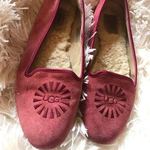 Ugg Alloway loafer shoes GUC size 8